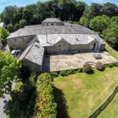 The Linhay - aerial view