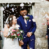 small weddings at Cosawes Barton