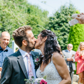 Cosawes Barton garden wedding
