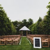 Alex and Sarah May 2016 - seating all ready!